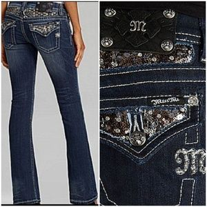 Miss me easy boot jeans.